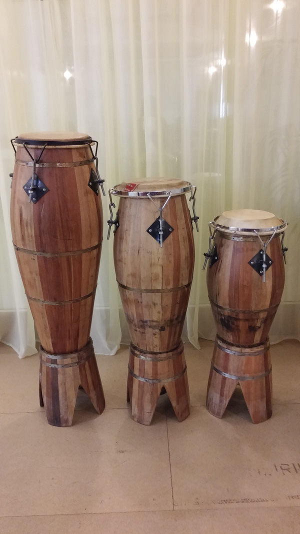 Candomblé drums